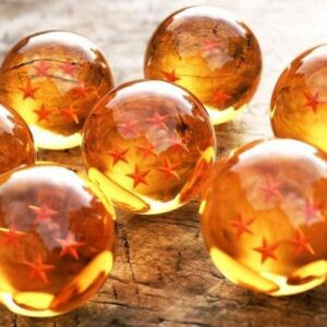 Dragon Ball Z Shenron 7 Stars Crystal Balls Set 7 Pcs