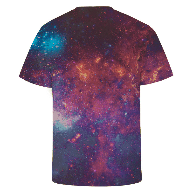 DBZ Super Saiyan Prince Vegeta Space Galaxy 3D T-Shirt