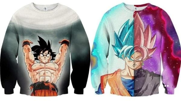 5 DBZ 2020 Crewneck Sweatshirts That Will Make You Say WOW!