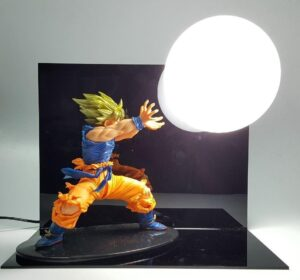 Dragon Ball Kamehameha Attack Super Saiyan Son Goku DIY Display Lamp