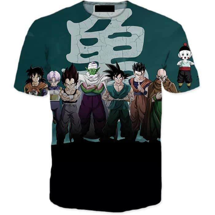 Dragon Ball Z Heroes Dark Black Badass 3D T-Shirt
