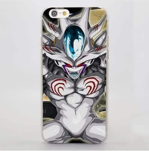 DBZ Frieza Villain 3RD Form Evil Laugh Dangerous Creature iPhone 4 5 6 7 8 Plus X Case
