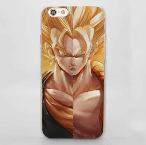 Dragon Ball Gogeta Vegeto Realistic Portraits Impressive iPhone 4 5 6 7 8 Plus X