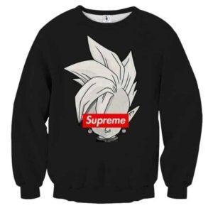 DBZ Shin Supreme Kai Logo Creative Black Edition Sweatshirt