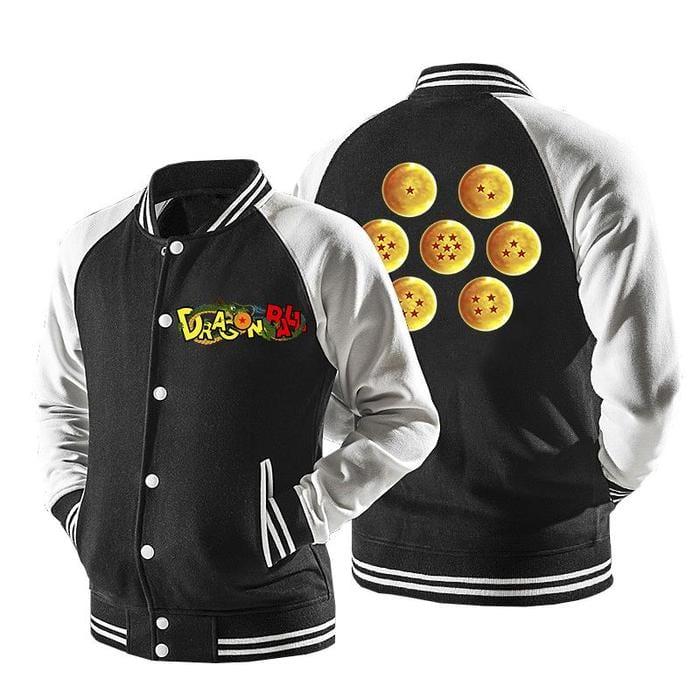 Dragon Ball Manga Seven Dragon Balls Baseball Varsity Jacket