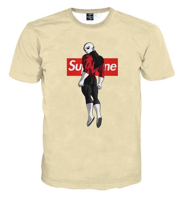 Dragon Ball Super Jiren Supreme Elegant Design Print T-shirt