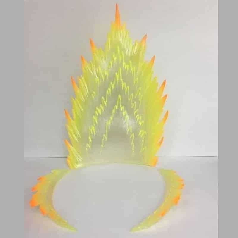 Blue & Yellow Aura for Dragon Ball Z DIY Lamp