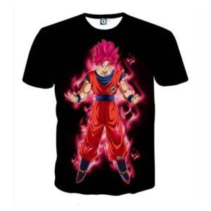 Dragon Ball Super Son Goku Red Kaioken Ultra Instinct T-Shirt