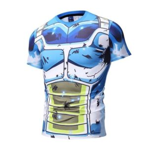 Dragon Ball Super Epic Vegeta Bruised Outfit Compression T-Shirt