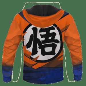 DBZ Super Saiyan 1 Goku Inspired Cosplay 3D Pullover Hoodie