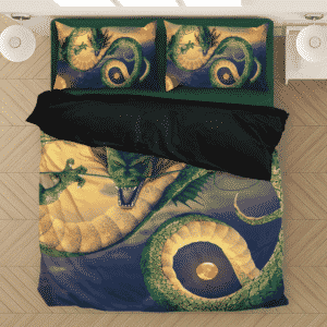 Shenron Eternal Dragon Magical Dragon Balls Bedding Set