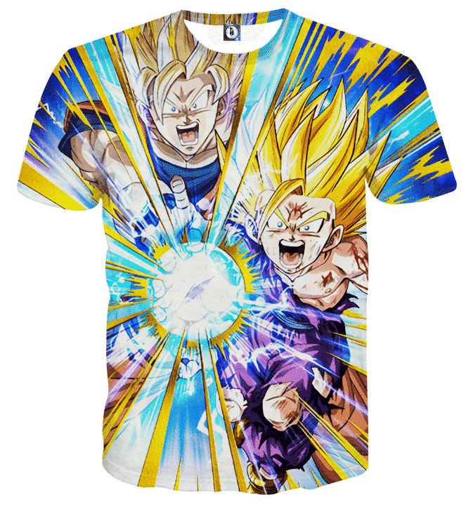 Dragon Ball Teen Gohan Dokkan Battle Super Saiyan 3 Cool T-shirt