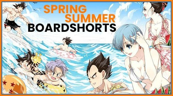 10 Cool Dragon Ball Boardshorts For Spring & Summer 2020