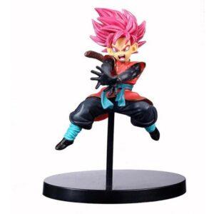 Dragon Ball Z Red Hair Son Gohan Black Action Figure