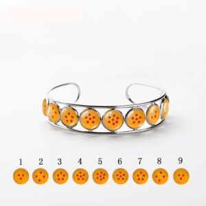 Magical Dragon Balls Design Bangle Jewelry Bracelet