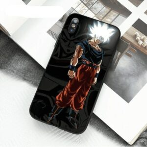 DBZ Goku Ultra Instinct Black iPhone 11 (Pro & Pro Max) Case