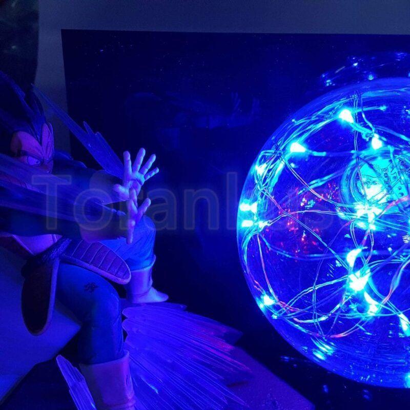Goku Kamehameha Wave Vegeta Final Flash Ball DIY 3D LED Light Lamp