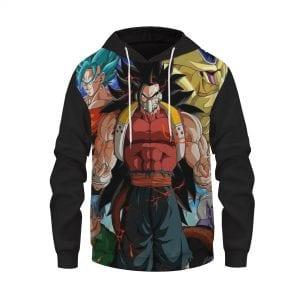 Dragon Ball Super Heroes Cunber Villainous Pullover Hoodie