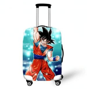 Dragon Ball Z Son Goku Spirit Energy Travel Luggage Cover
