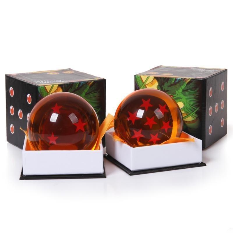 3 Inch 7.5cm Big Size Dragon Ball Z Orange Crystal Ball 1 to 7 Stars