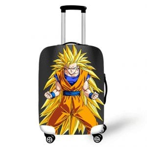 Furious Son Goku SSJ3 Gray Suitcase Protective Cover