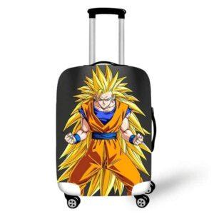 Furious Son Goku SSJ3 Gray Suitcase Protective Cover