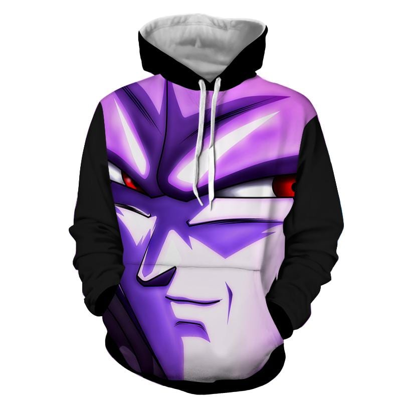 Dragon Ball Purple Hit Stylish Design Full Print Hoodie