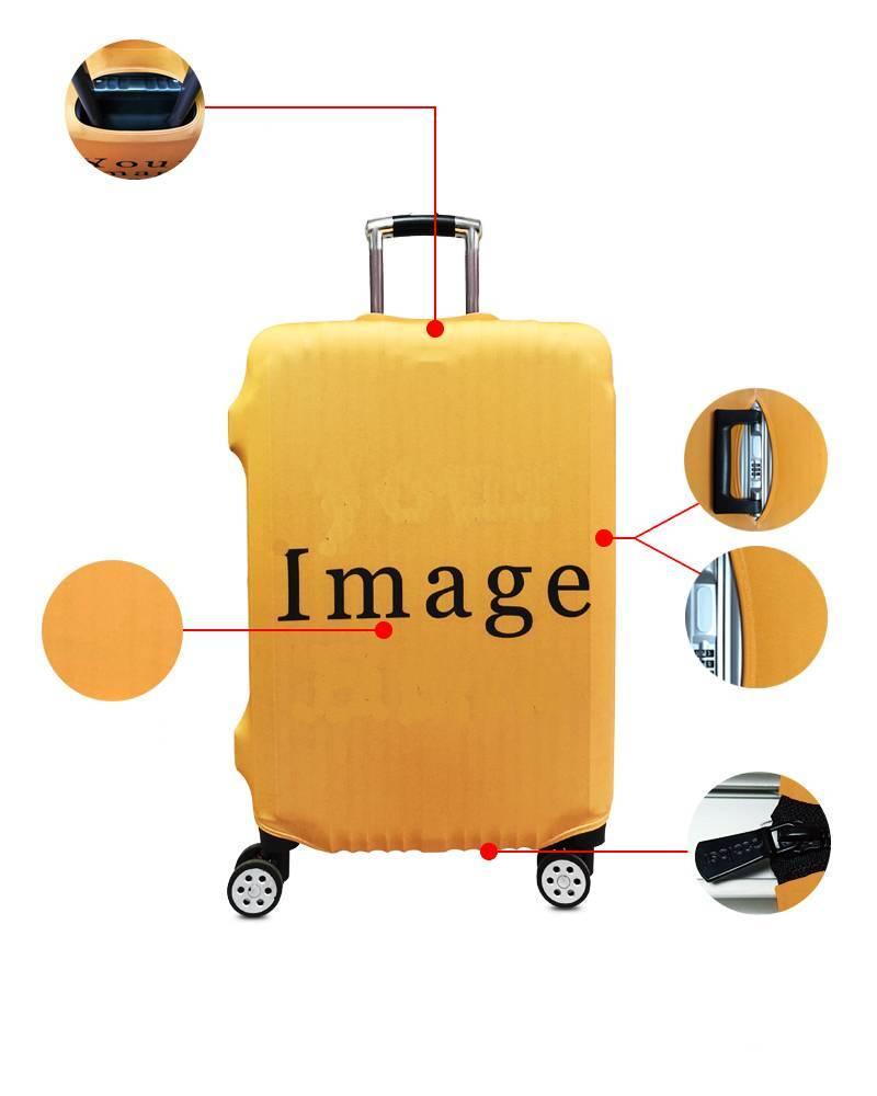 Majin Vegeta Final Impact Attack Travel Luggage Cover