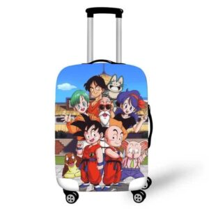 Dragon Ball Z First Episode Characters Luggage Cover