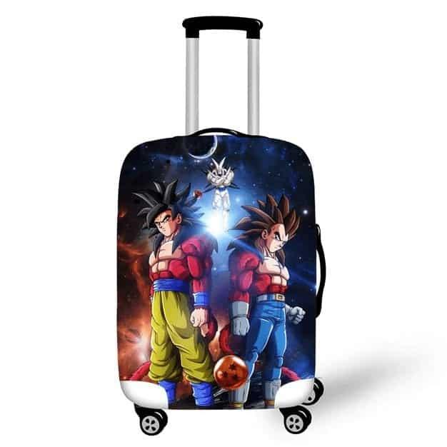 Dragon Ball GT Goku & Vegeta SSJ4 Form Luggage Cover