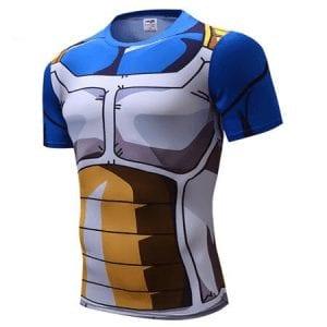 Dragon Ball Z – Vegeta Cell Saga Battle Saiyan Armor 3D Workout T-Shirt