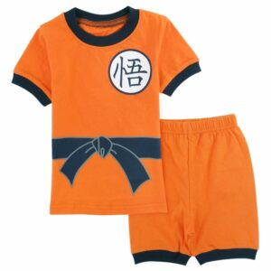 Dragon Ball Z Son Goku Costume Cosplay Shirt And Shorts Set