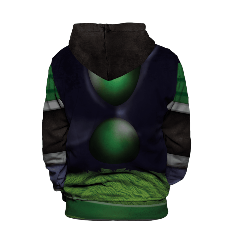 Dragon Ball Z Unbreakable Broly Armor Suit Pullover Hoodie