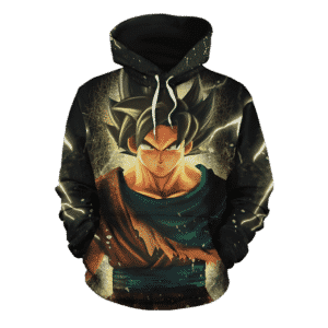 Dragon Ball Z The Remarkable Son Goku Black Pullover Hoodie