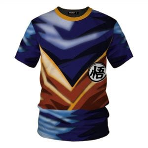 Dragon Ball Z Super Saiyan 1 Goku Inspired Cosplay T-Shirt