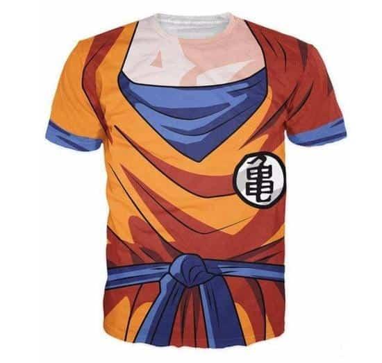 DBZ - Goku Skin Gear Armour 3D T-Shirt