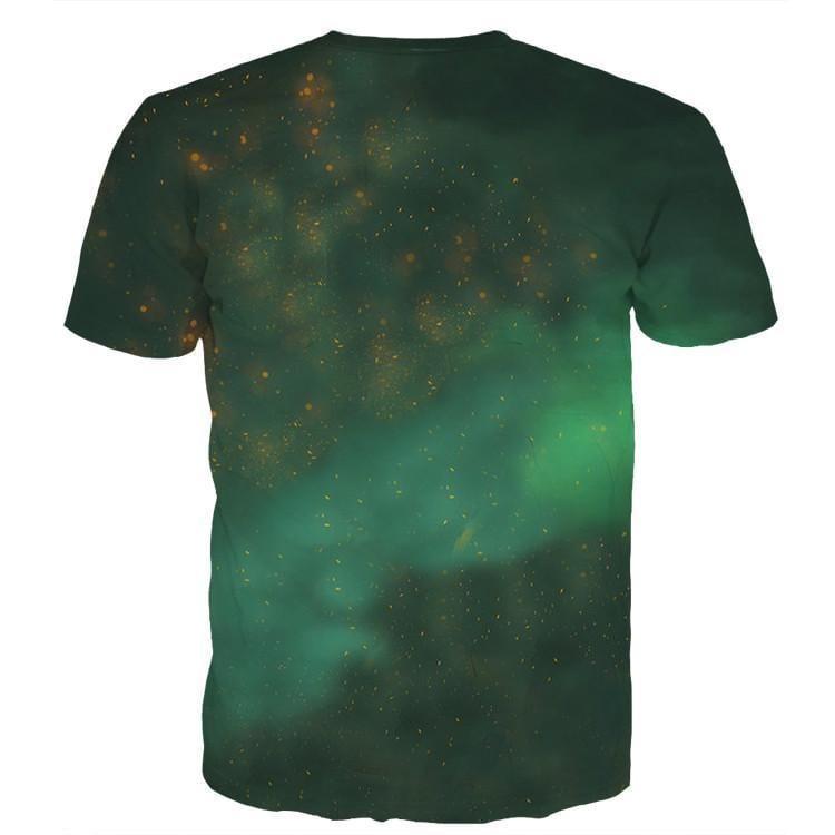 DBZ Black Goku Burning Destruction Fire Cool Trendy T-Shirt - Saiyan Stuff - 2