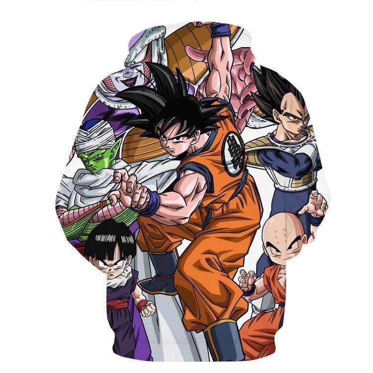 DBZ Goku Fighting Stance Gohan Piccolo Krillin Vegeta