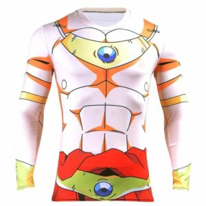 DBZ Legendary Super Saiyan Broly 3D Long Sleeves Compression T-Shirt