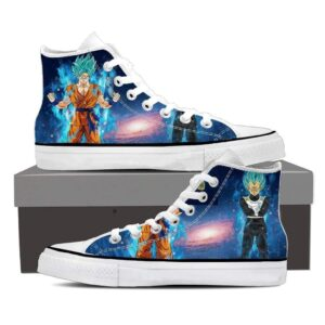 DBZ Serious Son Goku Vegeta Super Saiyan Cool Sneaker Shoes