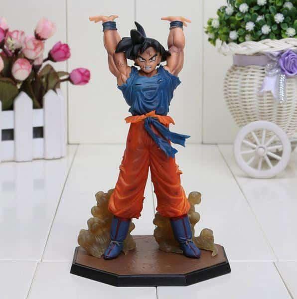 DBZ Son Goku Spirit Bomb Genki Dama 6.8' PVC Action Figure - Saiyan Stuff