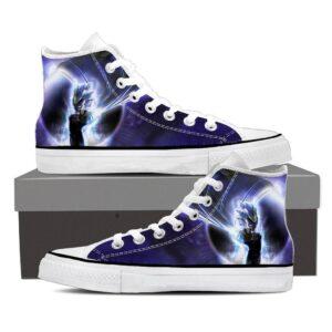 DBZ Super Blue Vegeta Super Saiyan God Epic Sneaker Shoes