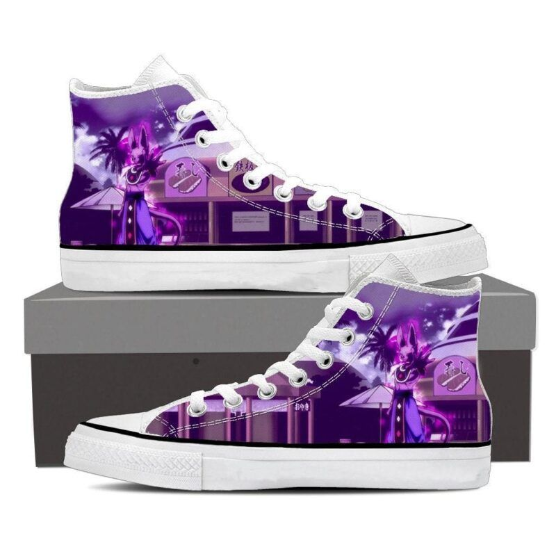 DBZ Super God Of Destruction Lord Beerus Cool Sneakers Shoes
