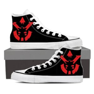 DBZ Vegeta Shadow Cool Red Vegeta Symbol Sneaker Shoes