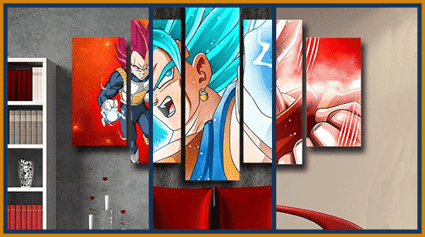 Decorate your Room With The Best DBZ Wall Art Canvas Of 2020