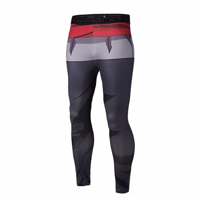 Dragon Ball Goku Black Waist Fitness Gym Compression Leggings Pants