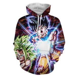 Dragon B Z Son Goku Powerful Kamehameha Released Hoodie