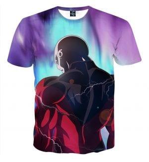 Dragon B Z The Relentless Jiren The Gray Back View T-Shirt