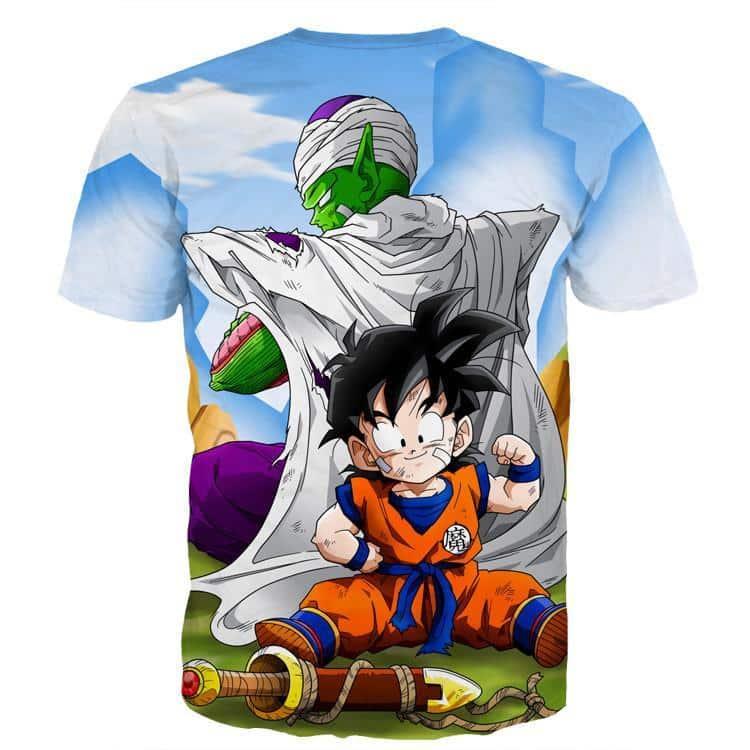 Dragon Ball Amazing Master Piccolo Train Strong Kid Gohan  T-Shirt