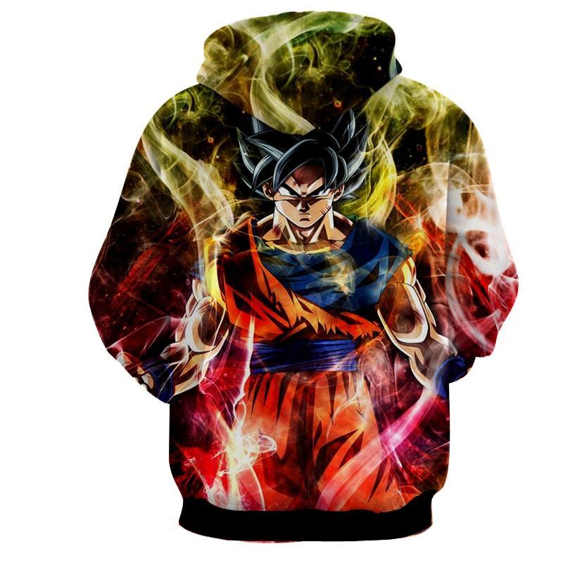 Dragon Ball Goku Super Saiyan God Ultra Instinct Hoodie